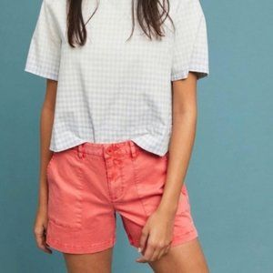 Sanctuary x Anthropologie | Washed Coral Shorts